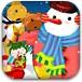 打扮圣诞雪人