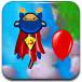 猴子超人射气球