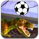 恐龙踢足球