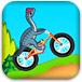 恐龙特技自行车