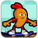 萝卜头玩滑板