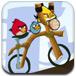 愤怒小鸟骑单车
