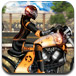 摩托车女骑手