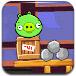 愤怒的小鸟大战绿猪