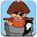 大炮发射海盗