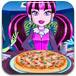 怪物公主做披萨