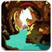 荒野洞穴逃生