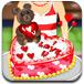 爱心小蛋糕