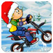 雪地竞技摩托