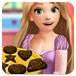 长发公主做巧克力