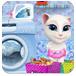 安吉拉洗玩具