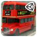 3D双层巴士城市停靠
