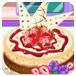 可爱的草莓蛋糕
