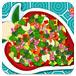 美味的蔬菜沙拉